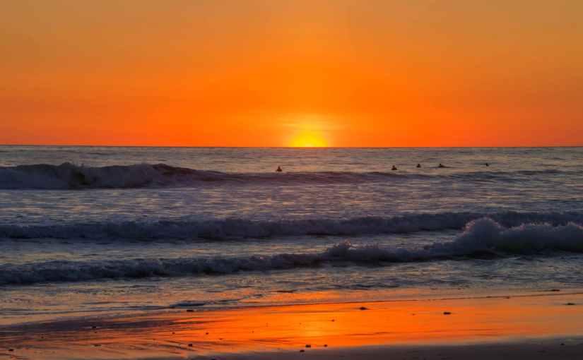Go watch a sunset.  You'll feelbetter.